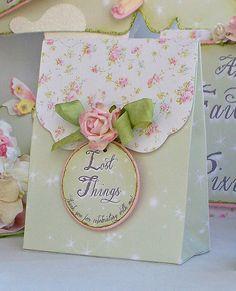 Princess Favor Bags: Shabby Chic Birthday by MyBellaBirthdays