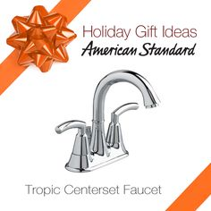 To celebrate the HOLIDAY season, we're asking American Standard fans to pin their favorite recipes, photos, and decoration pictures for the chance to win an American Standard Pekoe kitchen faucet! To enter and read the official rules visit americanstandard.com/pin.