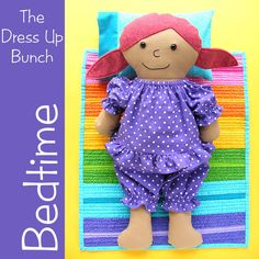 Bedtime - pajamas, pillow and quilt patterns