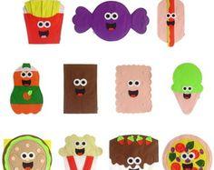 Fantoches Alimentos - Guloseimas