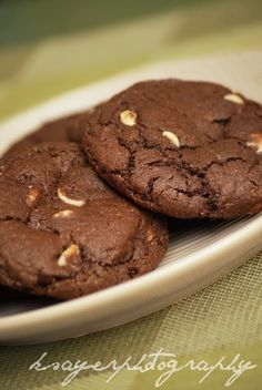 Cookie Mad: Double Chocolate Chip Cookies (Chocolate White Choc Chip) inspired by Subway's Double Chocolate Chip Cookies