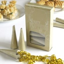 Gold Party Poppers
