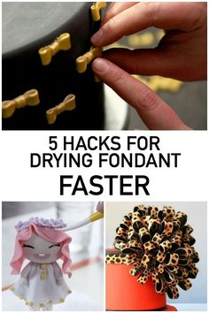 No more waiting around for fondant to harden! Try these five tips for drying fondant faster