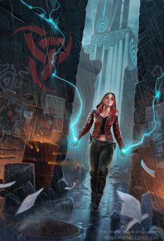Tangent by Wayne Miller Fantasy 2D CGSociety…