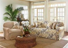 Floral Sofa Covers