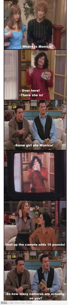 probably my favorite friends line ever