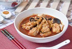 Teochew Spicy Stingray Stir-fry