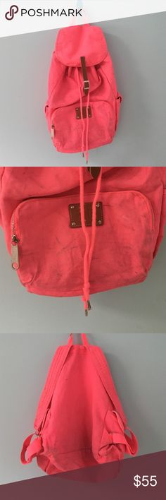 | new | • PINK Hot Pink Backpack • Description coming soon!✨ PINK Victoria's Secret Bags Backpacks