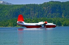 Stayed in a wonderful B on Sproat Lake. West Coast Canada, Flying Boat, Fire Fighters, Vancouver Island, Airplanes, Mars, Places Ive Been, Destinations, Wings