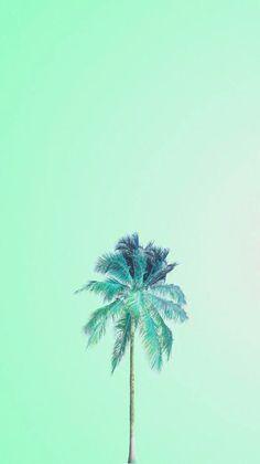 Tree Wallpaper Phone, Mint Green Wallpaper Iphone, Beach Wallpaper, Tumblr Wallpaper, Turquoise Wallpaper, Turquoise Art, Aesthetic Pastel Wallpaper, Aesthetic Wallpapers, Wallpapers Verdes