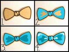 Bow Tie Cookie Tutorial