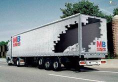 trukc advertising | Incubate Blog » Blog Archive » Creative truck advertisements