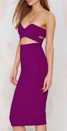 Solace London Adrienne Midi Dress