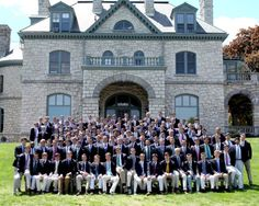 Formal portrait of the Class of 2014