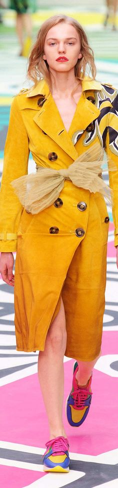 Burberry Prorsum Spring 2015 | The House of Beccaria~