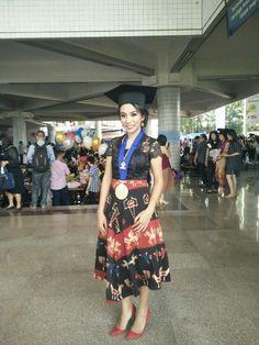 My Graduation ❤❤ #tenun#sumba#NTT