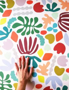 removeable matisse wallpaper