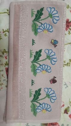 The most beautiful cross-stitch pattern - Knitting, Crochet Love Cross Stitch Letters, Cross Stitch Borders, Cross Stitch Samplers, Cross Stitch Flowers, Modern Cross Stitch, Cross Stitch Designs, Cross Stitching, Cross Stitch Embroidery, Hand Embroidery Designs