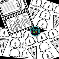 Equivalent Fractions by Amber from TGIF Fractions Équivalentes, Teaching Fractions, Equivalent Fractions, Teaching Math, Fraction Activities, Math Resources, Math Activities, Fifth Grade Math, Math School