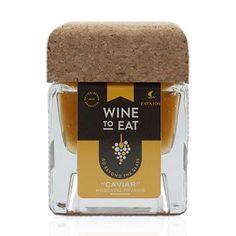 """Este """"Caviar"""" foi feito com o Vinho Moscatel de Favaios."""