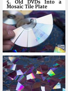 1. Disc mosaic plate.