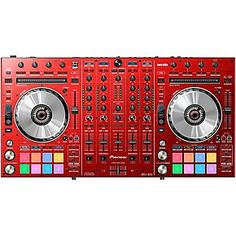 Shop for the Pioneer DDJ-SX2 Limited Edition Red DJ Controller in  and receive free shipping and guaranteed lowest price.