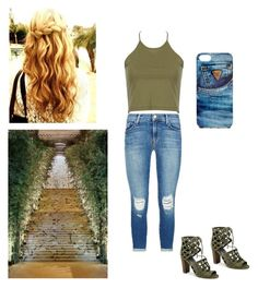 """""""Olive"""" by amilagarcia12 on Polyvore featuring J Brand, G by Guess, GUESS and GALA"""