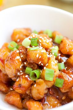 Orange Chicken recipe, quick and easy recipe that you can make at home, much healthy and better than Chinese restaurants or takeout.
