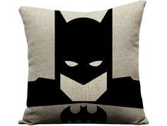 Set of 4 superhero pillows superman pillow por GEEKandtheCHIC