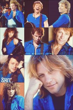 Jon Bon Jovi over the years