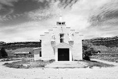 Iglesia de San Luis church, San Luis, New Mexico, USA