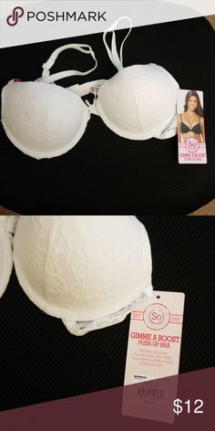 fb2731688ef93 So Gimme A Boost push-up bra NWT So Gimme A Boost push-up