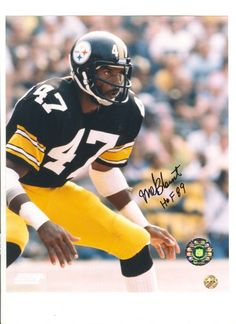 Cornerback (1970-'83) Elected: 1989  Melvin Cornell Blount, the Steelers'  third-round pick in 1970, had superior  size, speed, strength and intelligence. His  physical style of play is widely credited for  changing NFL pass defense rules. Blount  played 14 seasons and 200 regularseason  games in Pittsburgh and his 57  interceptions remain a Steelers record.  Blount played in five Pro Bowls and was  named an All-Pro four times and the NFL  defensive MVP in 1975.