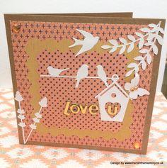 Simply Creative - Azteca Love U card by design team member Karen