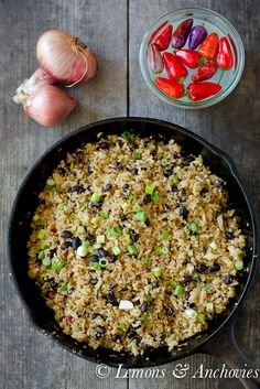 Quinoa and Black Bea