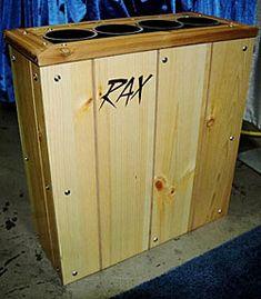 RAX Home Ski Storage Rack