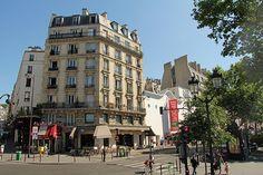 Boulevard de Rochechouart - Paris (France)
