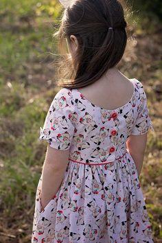 Sewing Dresses Charlie Dress and Top - Frock Patterns, Baby Girl Dress Patterns, Baby Dress, Coat Patterns, Blouse Patterns, Sewing Patterns, Baby Frocks Designs, Kids Frocks Design, Frocks For Girls