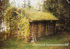 Finland - In dieser Naturhütte versteckt sich eine tolle Sauna