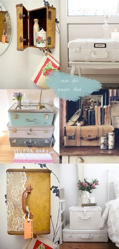 From this.. to that; Suitcases | Van dit naar dat; koffers