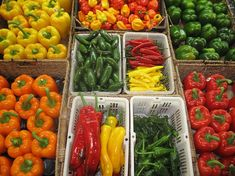 The Most Popular Types of Peppers, Ranked from Sweet to Spicy Salads For A Crowd, Salad Recipes For Dinner, Healthy Salad Recipes, Healthy Foods To Eat, Party Recipes, Stuffed Banana Peppers, Stuffed Sweet Peppers, Types Of Chili Peppers, Guacamole