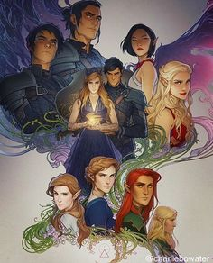 MY BABIES! Hotties with Golden hearts except for the tool LMAO  Azriel (Although I picture him a bit older, than baby face, built frame) Hot stuff Cassian, Badass with a Golden Heart Amren, Pure and precious Morrigan, Feyre Darling the Queen of hearts, King Precious Cinnamon Roll Rhysand. Elain the Princess, Nesta The Fierce and Sass, Lucien and.... the tool YAAAASSSSSS CREDITS: Charlie Bowater