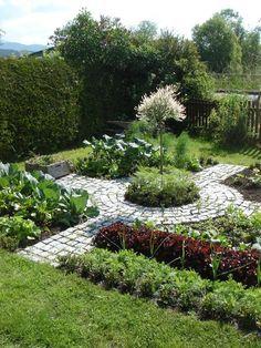 Kitchen vegetable garden | jardin potager | bauerngarten | Kerschhaggl Heinz, Stranach, LUNGAU