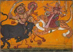 Fine Art Print-Durga Slaying Mahisha, c. Creator: Fine Art Print on Paper made in the UK Southeast Asian Arts, Cleveland Museum Of Art, Durga Goddess, Fine Art Prints, Canvas Prints, Types Of Art, Indian Art, Heritage Image, Slay