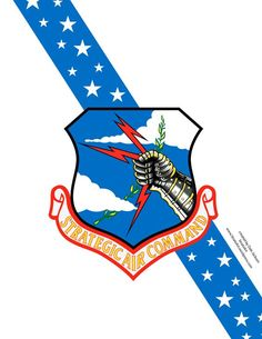 "I grew up in SAC, Bomb Wing. Always loved this ""crest."" You are in the right place about North Dakota logo Here we offer you the most beautiful pictures about the bismarck North Dakota you are loo Air Force Bases, Us Air Force, Military Insignia, Military Art, Strategic Air Command, Air Force Patches, B 52 Stratofortress, Nose Art, Aviation Art"
