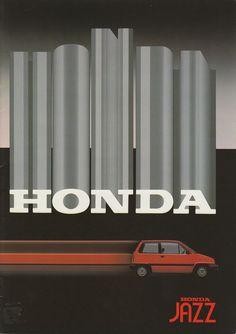 Honda Jazz Mk1 Brochure