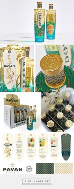 Pavan Liqueur packaging designed by Werner Design Werks (USA)… Dog Treat Packaging, Beverage Packaging, Bottle Packaging, Food Packaging, Brand Packaging, Packaging Design, Label Design, Box Design, Graphic Design