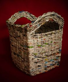 93 best basket images on pinterest recycling basket weaving and braid