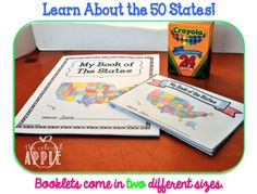 A fun way to learn About the 50 States!