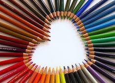Tu corazón está lleno de colores. ¿cuál de todos vas a usar hoy?